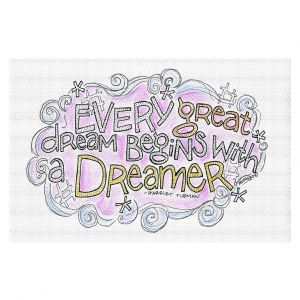 Decorative Floor Covering Mats | Marley Ungaro - Every Great Dream | Text typography words