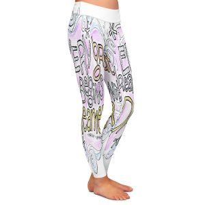 Casual Comfortable Leggings | Marley Ungaro - Every Great Dream | Text typography words