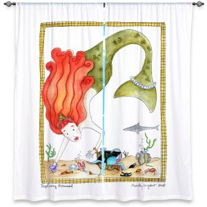 Decorative Window Treatments | Marley Ungaro Exploring Mermaid