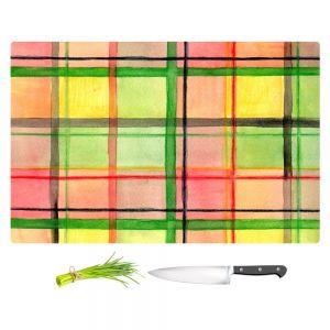 Artistic Kitchen Bar Cutting Boards | Marley Ungaro - Ferrari Plaid