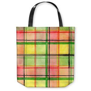 Unique Shoulder Bag Tote Bags | Marley Ungaro Ferrari Plaid