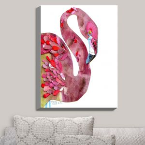 Decorative Canvas Wall Art | Marley Ungaro - Flamingo