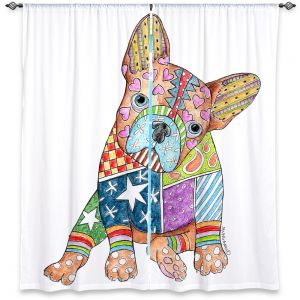 Decorative Window Treatments | Marley Ungaro French Bulldog