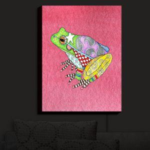 Nightlight Sconce Canvas Light | Marley Ungaro - Frog Pink