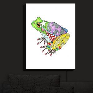 Nightlight Sconce Canvas Light | Marley Ungaro - Frog White