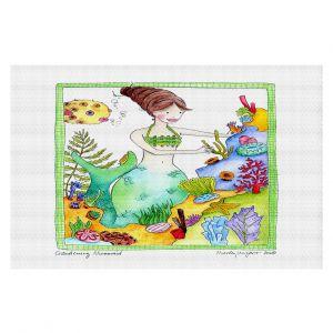 Decorative Floor Coverings | Marley Ungaro Gardening Mermaid
