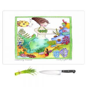 Artistic Kitchen Bar Cutting Boards | Marley Ungaro - Gardening Mermaid
