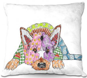 Throw Pillows Decorative Artistic | Marley Ungaro's German Shepherd
