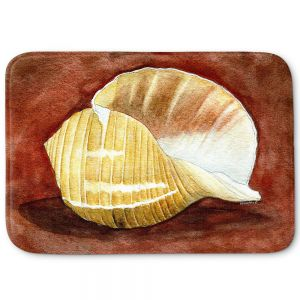 Decorative Bathroom Mats | Marley Ungaro - Giant Tun | Ocean seashell still life nature