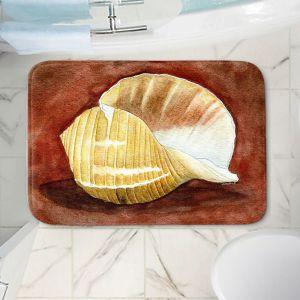 Decorative Bathroom Mats | Marley Ungaro - Giant Tun | Ocean seashell still life nature