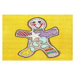 Decorative Floor Coverings   Marley Ungaro - Gingerbread Gold   Gingerbread Man Holidays Christmas Childlike