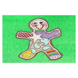 Decorative Floor Coverings   Marley Ungaro - Gingerbread Kelly   Gingerbread Man Holidays Christmas Childlike