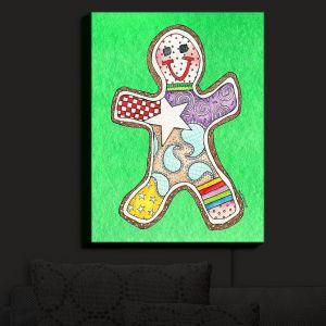 Nightlight Sconce Canvas Light | Marley Ungaro - Gingerbread Kelly