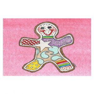 Decorative Floor Coverings | Marley Ungaro - Gingerbread Light Pink | Gingerbread Man Holidays Christmas Childlike