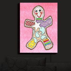 Nightlight Sconce Canvas Light | Marley Ungaro - Gingerbread Light Pink