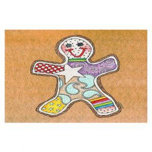 Decorative Floor Coverings   Marley Ungaro - Gingerbread Tan   Gingerbread Man Holidays Christmas Childlike