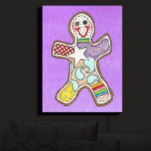 Nightlight Sconce Canvas Light | Marley Ungaro - Gingerbread Violet