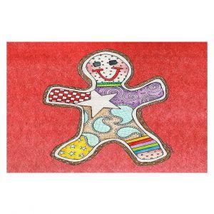 Decorative Floor Coverings   Marley Ungaro - Gingerbread Watermelon   Gingerbread Man Holidays Christmas Childlike