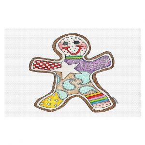 Decorative Floor Coverings | Marley Ungaro - Gingerbread White | Gingerbread Man Holidays Christmas Childlike