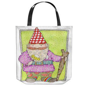 Unique Shoulder Bag Tote Bags   Marley Ungaro - Gnome   Garden Gnome