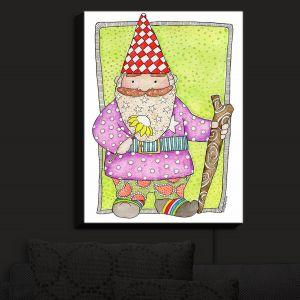 Nightlight Sconce Canvas Light | Marley Ungaro - Gnome | Garden Gnome