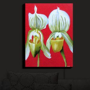 Nightlight Sconce Canvas Light | Marley Ungaro - Gossip Girls White Orchids