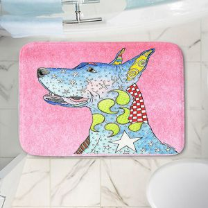 Decorative Bathroom Mats | Marley Ungaro - Great Dane Light Pink