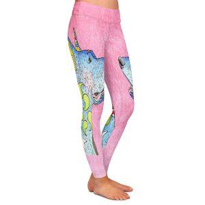 Casual Comfortable Leggings | Marley Ungaro - Great Dane Light Pink