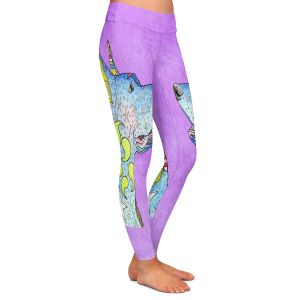 Casual Comfortable Leggings | Marley Ungaro - Great Dane Violet