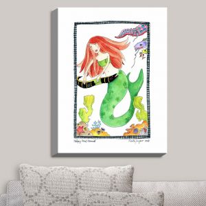 Decorative Canvas Wall Art | Marley Ungaro - Helping Hand Mermaid