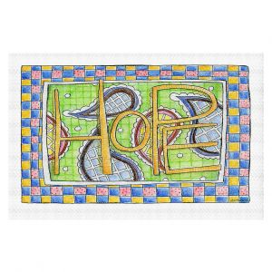 Decorative Floor Covering Mats | Marley Ungaro - Hope | Text typography words