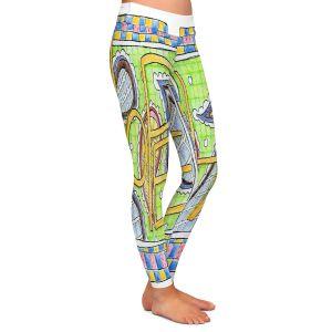 Casual Comfortable Leggings | Marley Ungaro - Hope | Text typography words