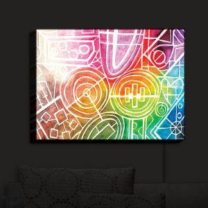 Nightlight Sconce Canvas Light   Marley Ungaro - I Dream in Color
