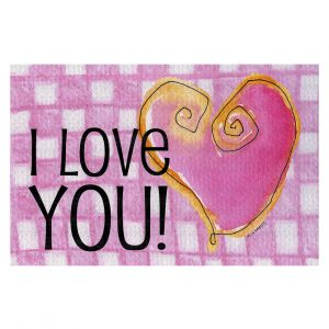 Decorative Floor Coverings | Marley Ungaro - I love You Pink