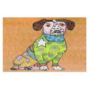 Decorative Floor Coverings   Marley Ungaro - Jack Russell Dog Tan