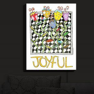 Nightlight Sconce Canvas Light | Marley Ungaro - Joyful Flowers | Floral Inspiration