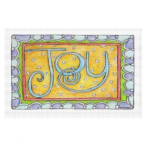 Decorative Floor Covering Mats | Marley Ungaro - Joy | Text typography words