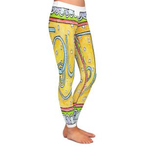 Casual Comfortable Leggings | Marley Ungaro - Joy | Text typography words