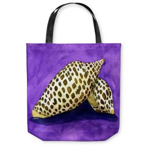 Unique Shoulder Bag Tote Bags | Marley Ungaro - Junonia | Ocean seashell still life nature