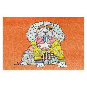 Decorative Floor Coverings | Marley Ungaro - King Charles Spaniel Orange