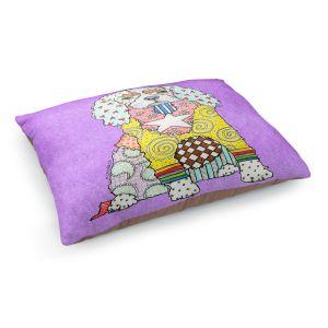 Decorative Dog Pet Beds | Marley Ungaro - King Charles Spaniel Violet