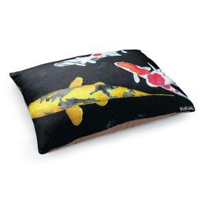 Decorative Dog Pet Beds | Marley Ungaro - Koi 3 | Koi Fish