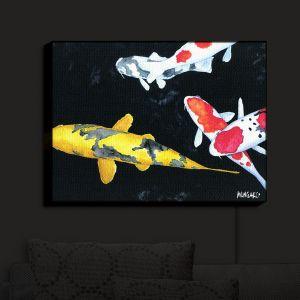 Nightlight Sconce Canvas Light | Marley Ungaro - Koi 3 | Koi Fish