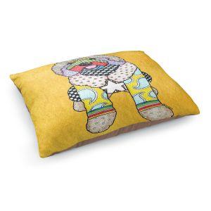 Decorative Dog Pet Beds | Marley Ungaro Labradoodle Dog Gold