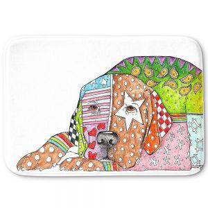 Decorative Bathroom Mats | Marley Ungaro - Labrador Retriever Dog White
