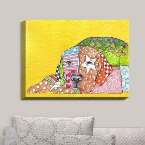 Decorative Canvas Wall Art   Marley Ungaro - Labrador Retriever Dog Yellow