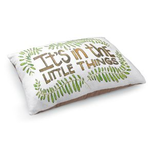 Decorative Dog Pet Beds   Marley Ungaro - Little Things   Text typography words