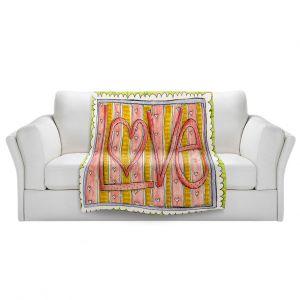 Artistic Sherpa Pile Blankets | Marley Ungaro - Love