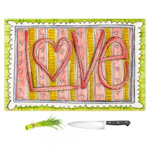 Artistic Kitchen Bar Cutting Boards | Marley Ungaro - Love