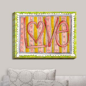Decorative Canvas Wall Art | Marley Ungaro - Love | Love Quotes Sayings Inspiring